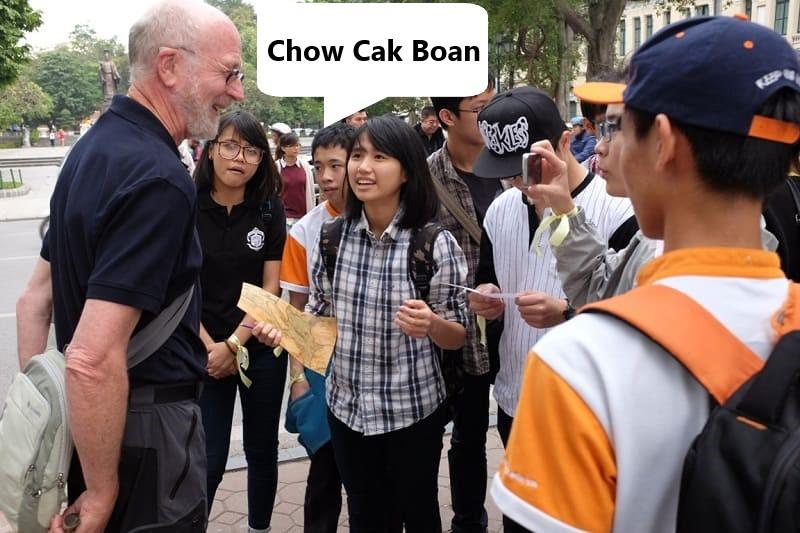 Hello in Vietnamese